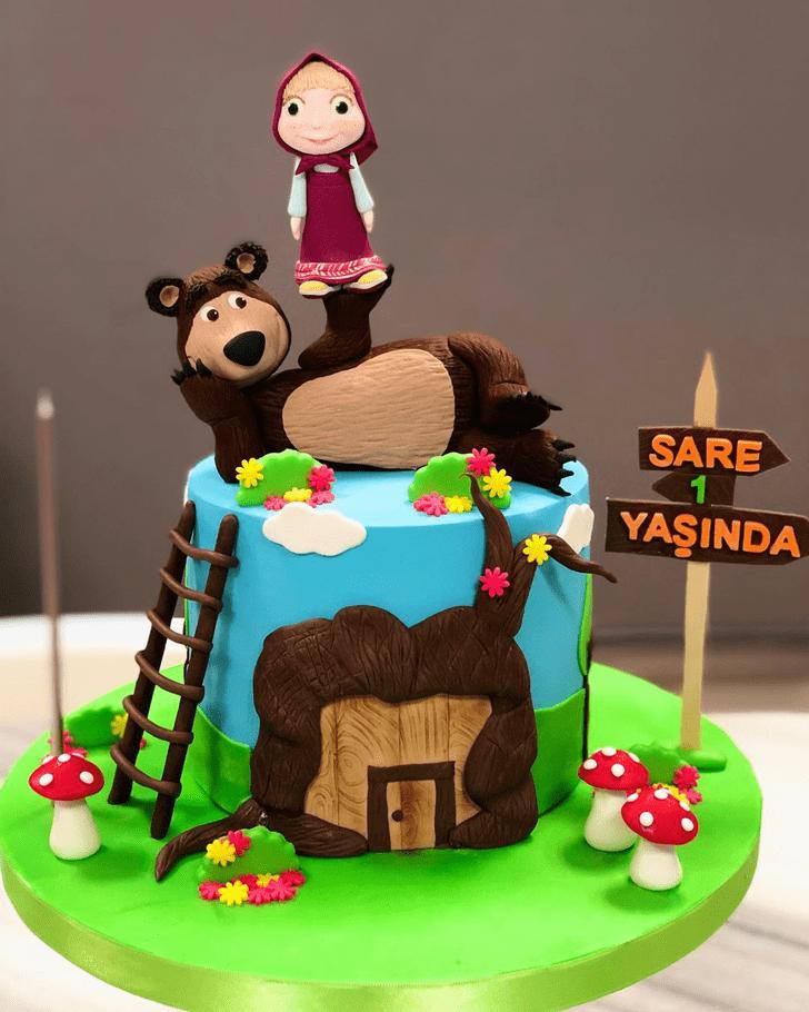 Pretty Masha Cake