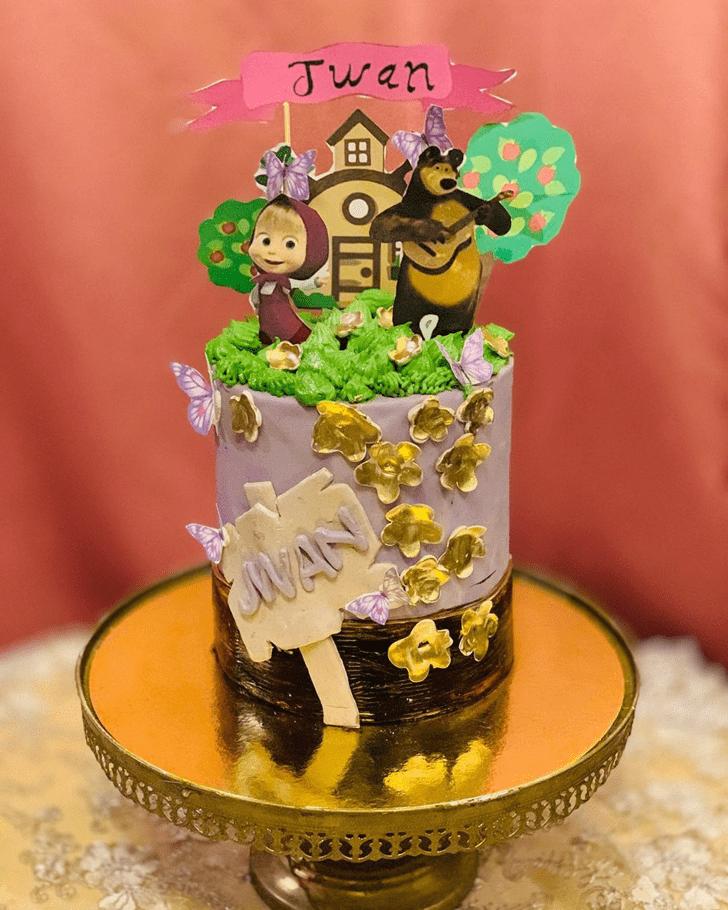 Shapely Masha Cake