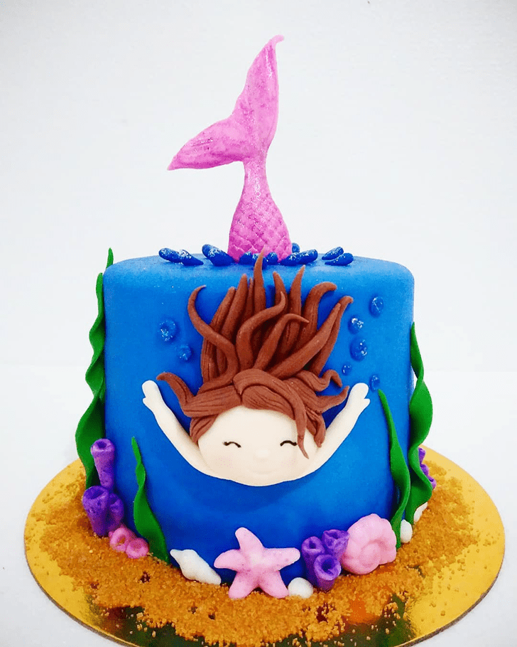 Admirable Mermaid Cake Design