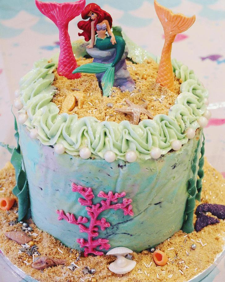 Appealing Mermaid Cake