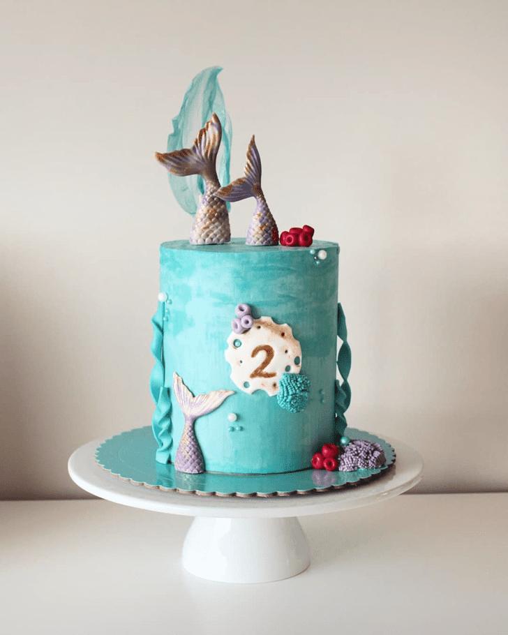 Bewitching Mermaid Cake