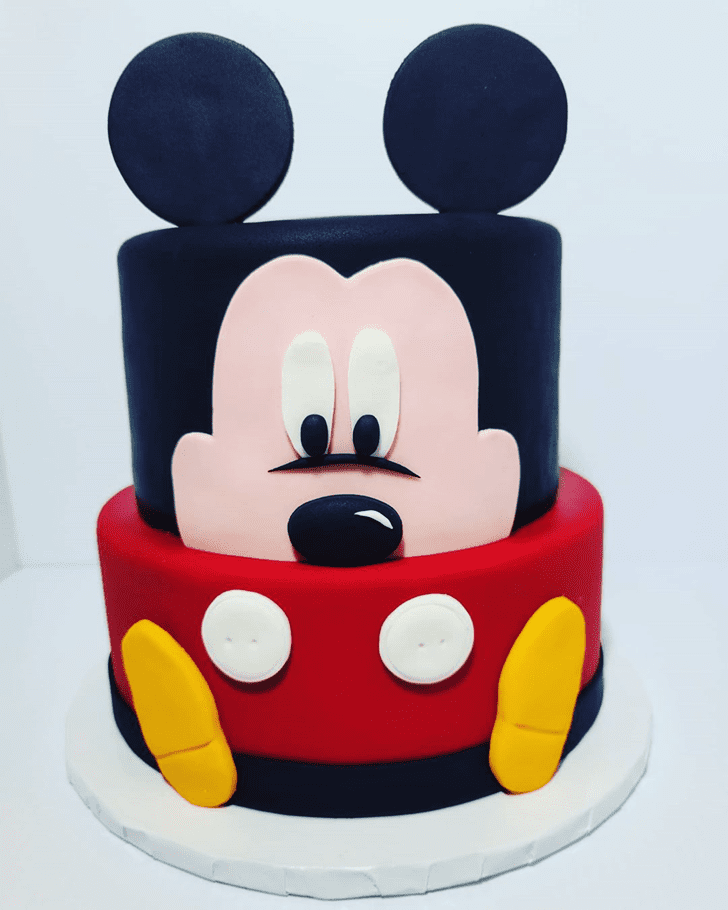 Alluring Micky Mouse Cake