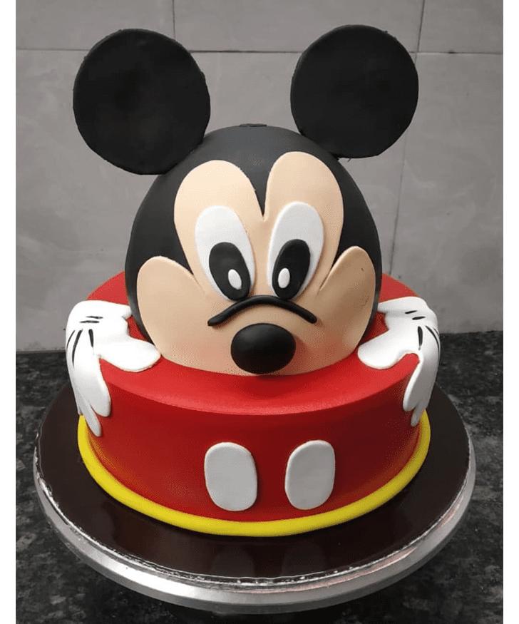 Captivating Micky Mouse Cake