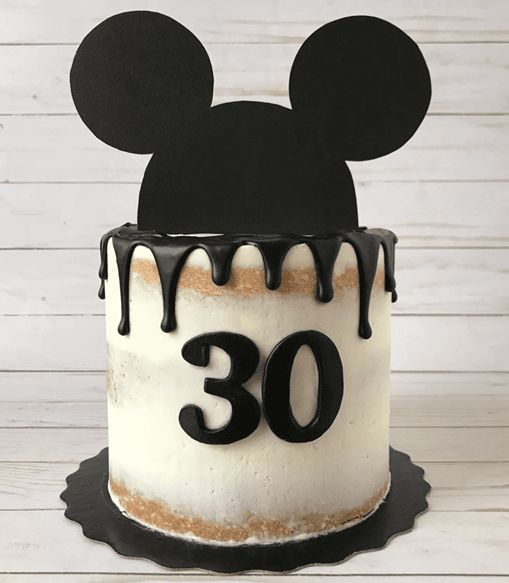 Charming Micky Mouse Cake