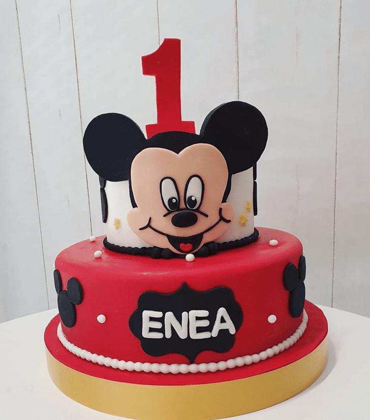 Delightful Micky Mouse Cake
