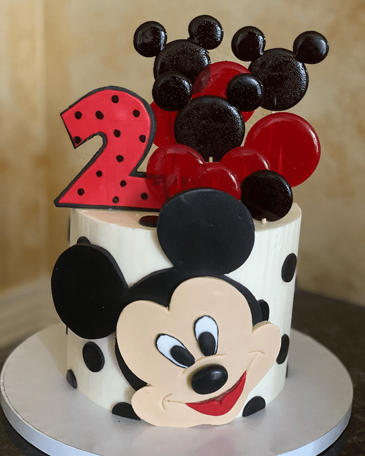 Excellent Micky Mouse Cake