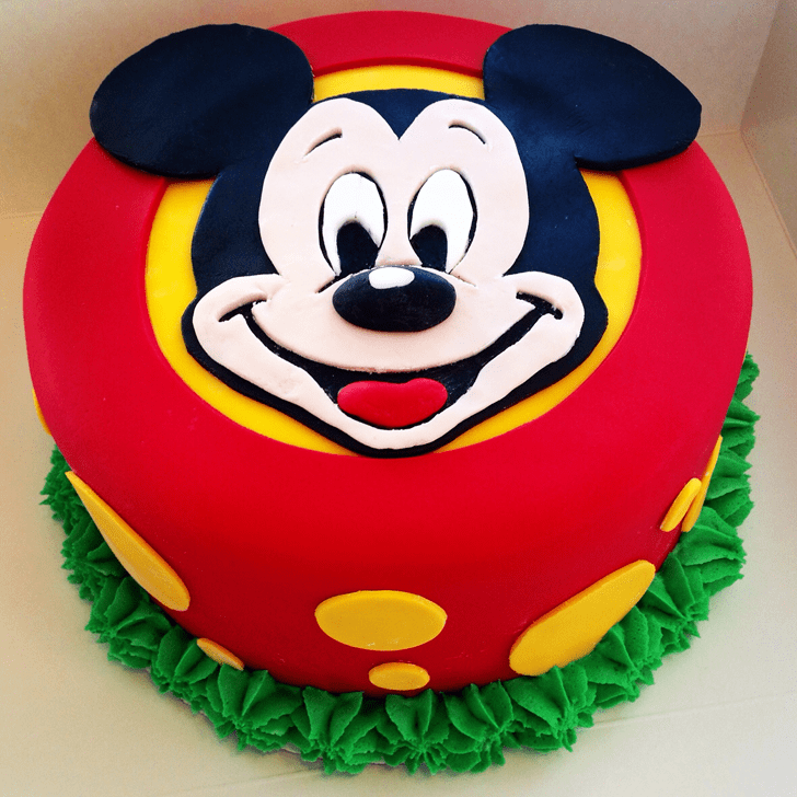 Gorgeous Micky Mouse Cake