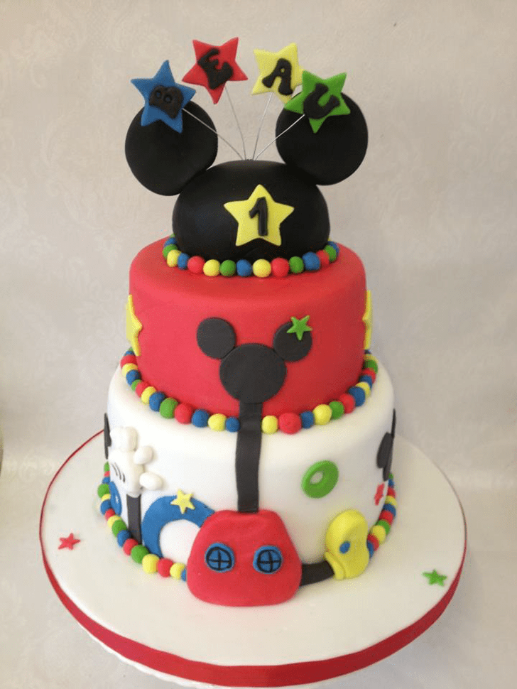 Handsome Micky Mouse Cake