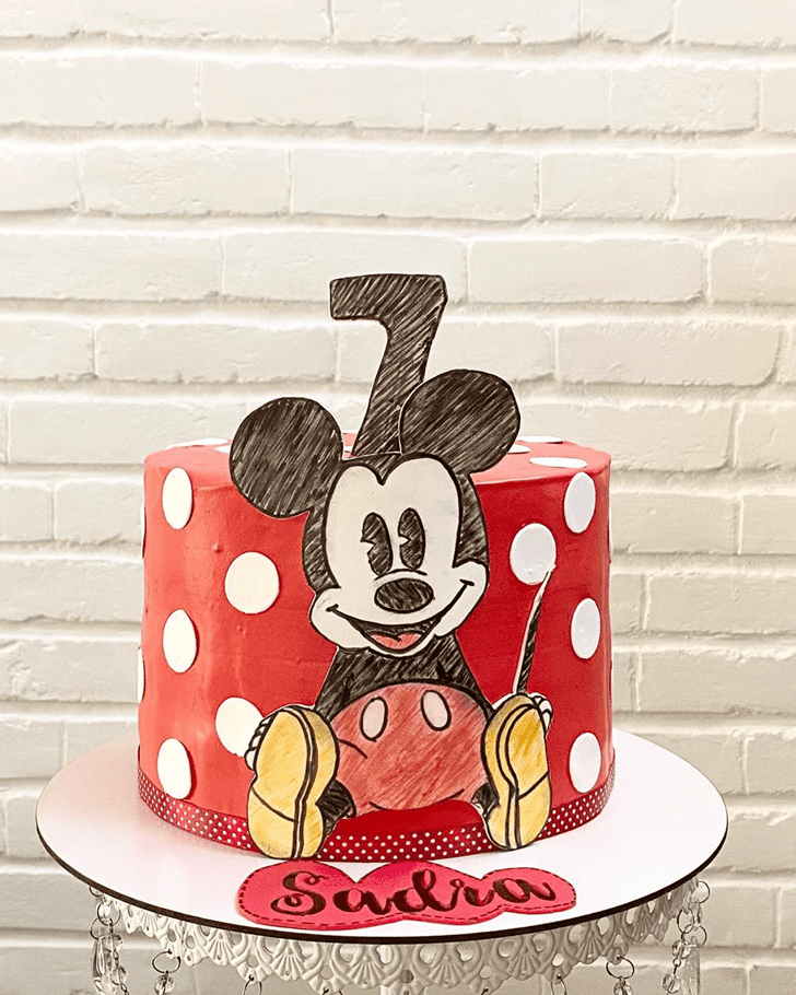 Ideal Micky Mouse Cake