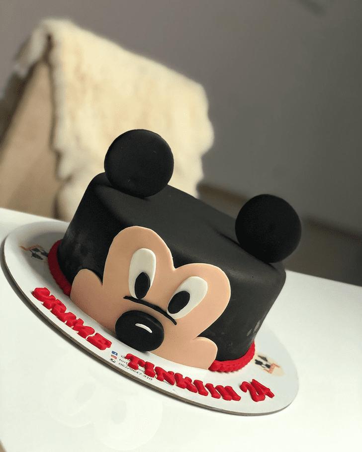 Lovely Micky Mouse Cake Design