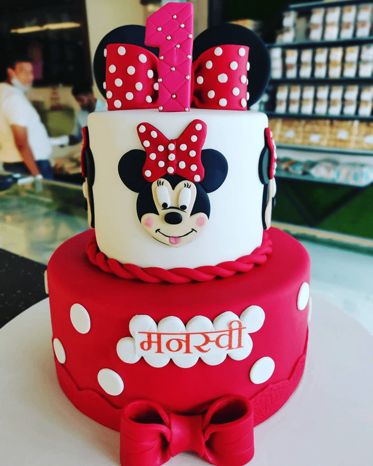 Magnificent Micky Mouse Cake