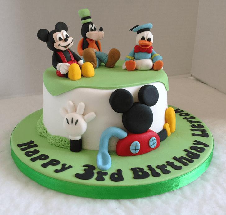 Radiant Micky Mouse Cake