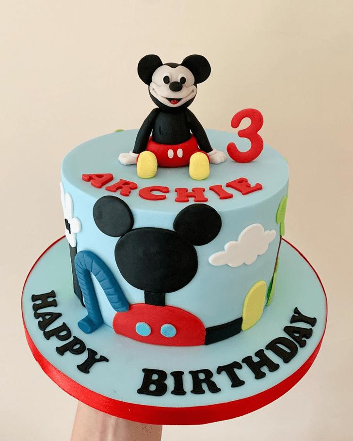 Slightly Micky Mouse Cake