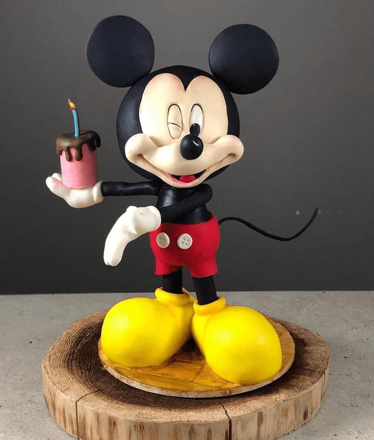 Wonderful Micky Mouse Cake Design