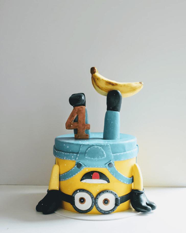 Adorable Minions Cake