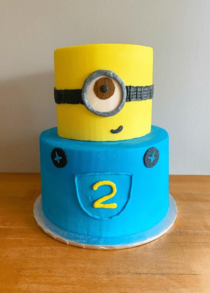 Alluring Minions Cake