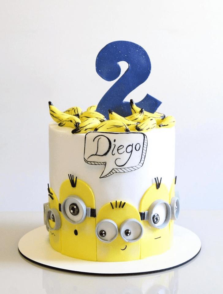 Cute Minions Cake
