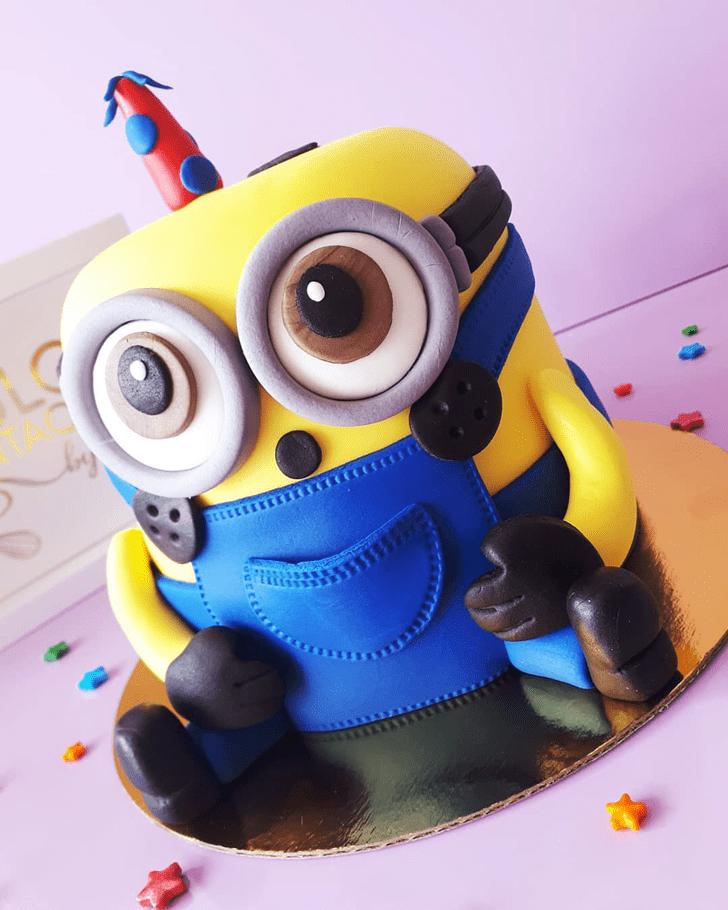 Divine Minions Cake