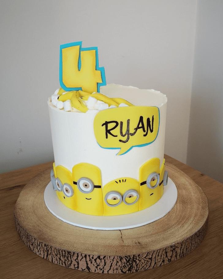 Enticing Minions Cake