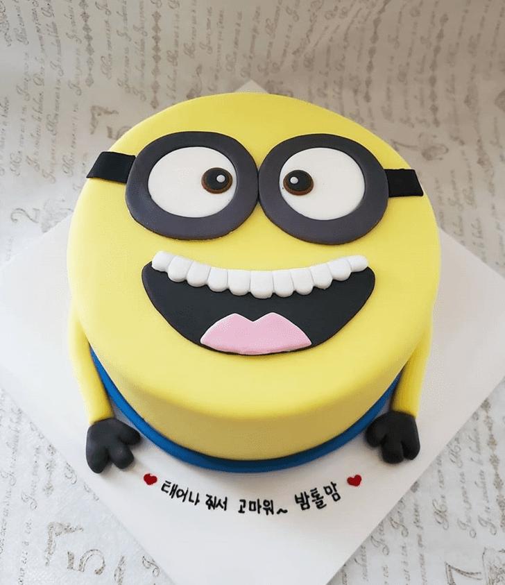 Fair Minions Cake
