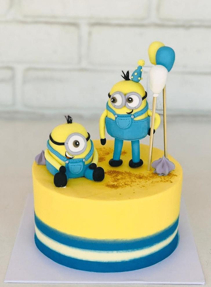 Fine Minions Cake