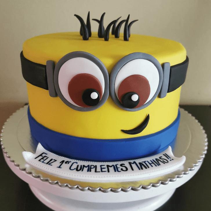 Ravishing Minions Cake