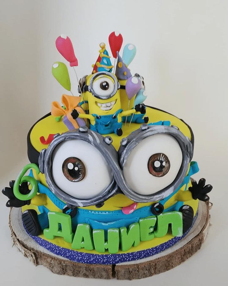Slightly Minions Cake