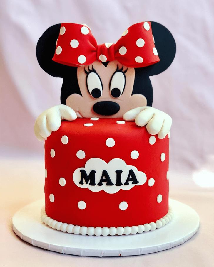 Divine Minnie Mouse Cake