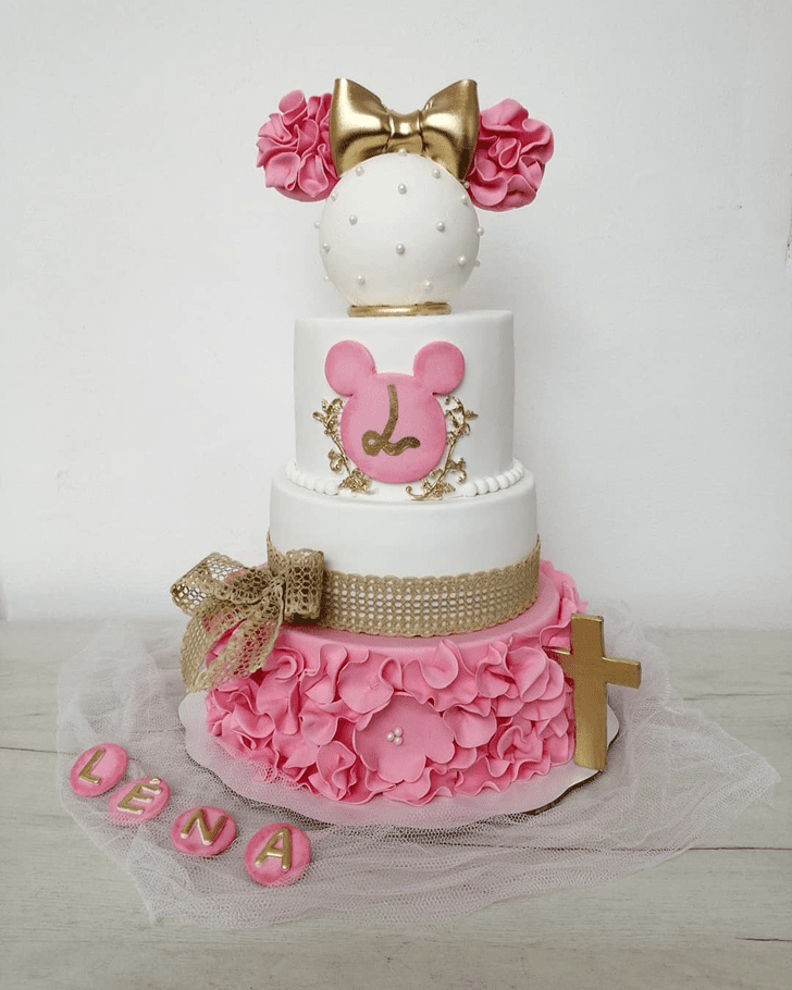 Enthralling Minnie Mouse Cake