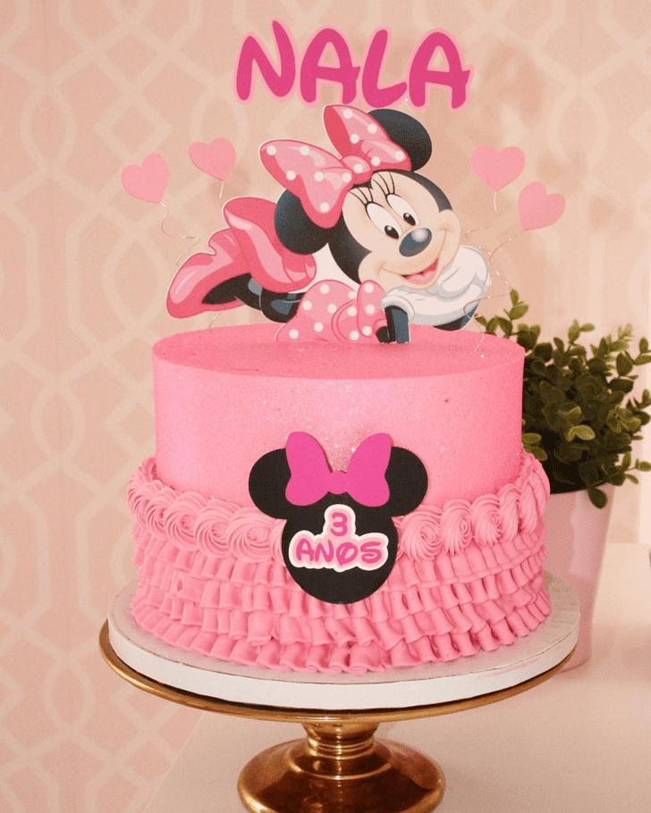 Gorgeous Minnie Mouse Cake
