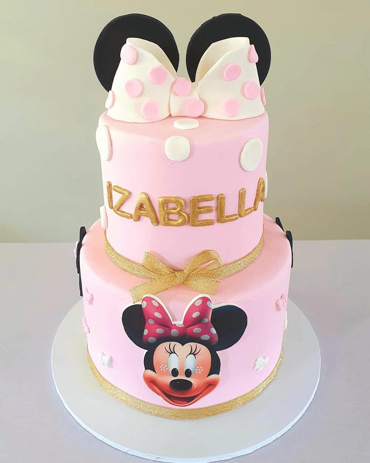 Wonderful Minnie Mouse Cake Design
