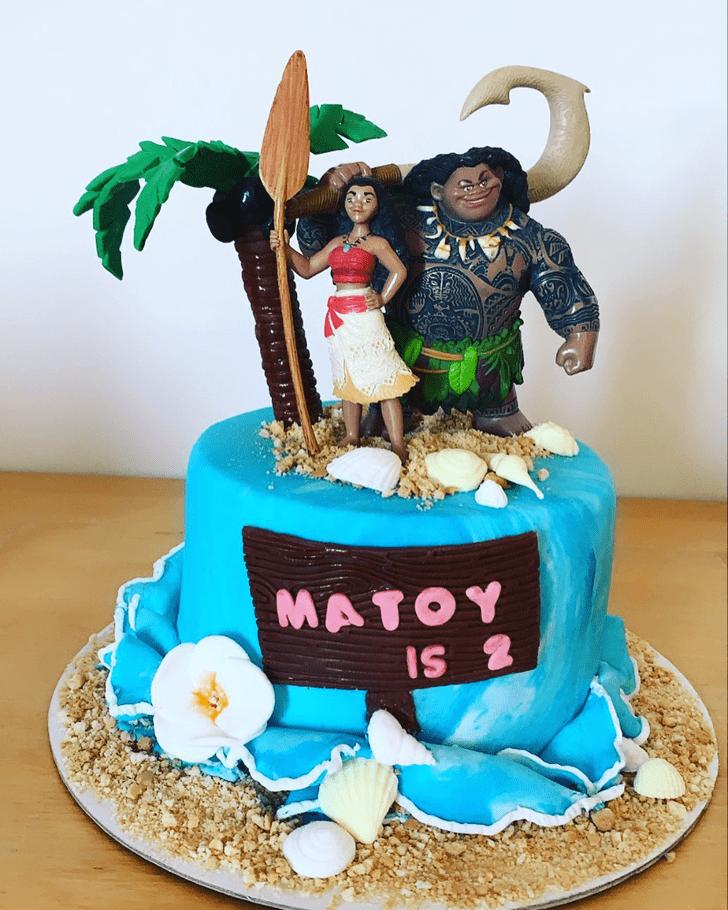 Appealing Moana Cake