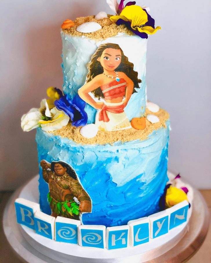 Beauteous Moana Cake