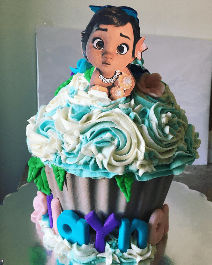 Charming Moana Cake