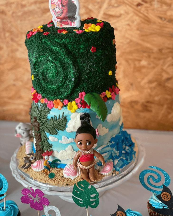 Classy Moana Cake