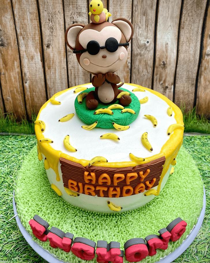 Angelic Monkey Cake