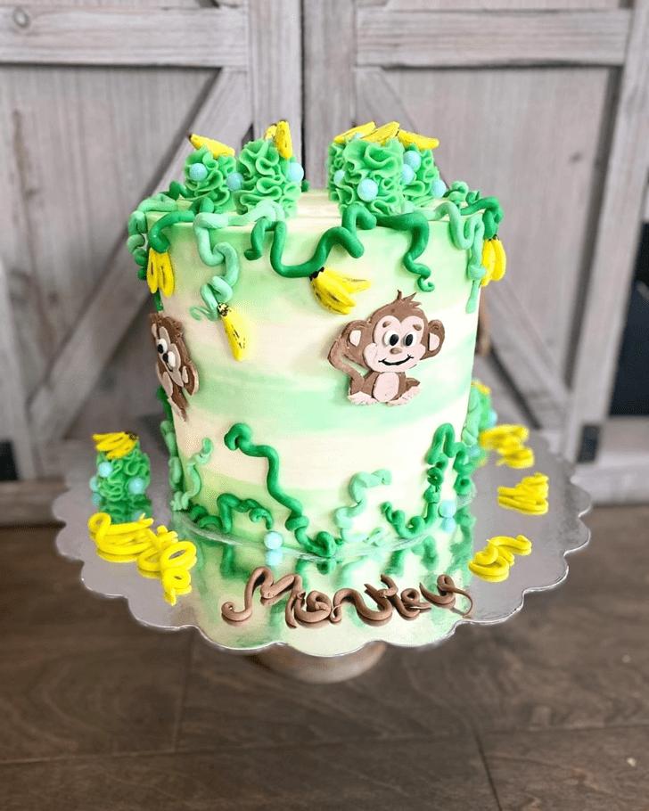 Appealing Monkey Cake