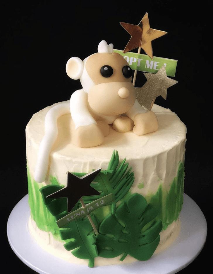 Beauteous Monkey Cake