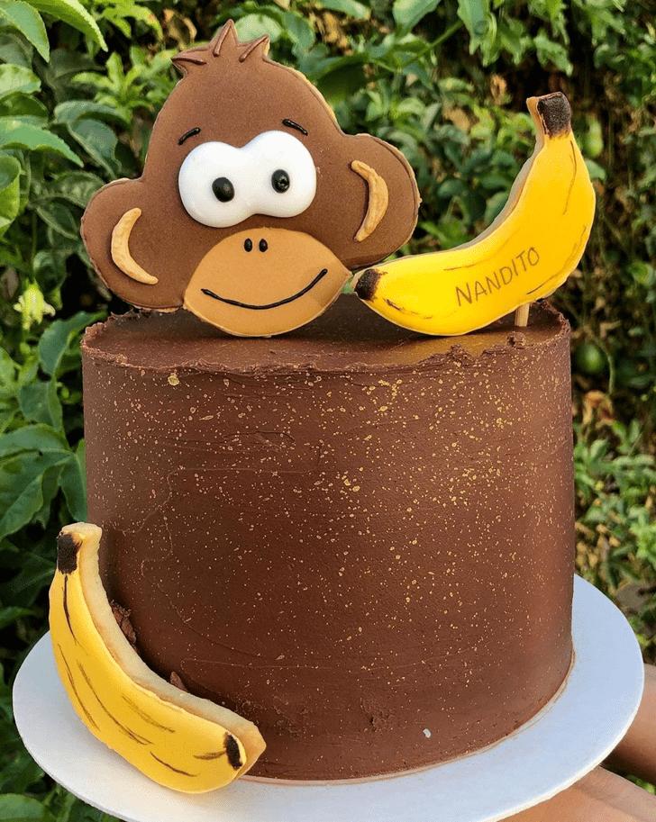 Captivating Monkey Cake