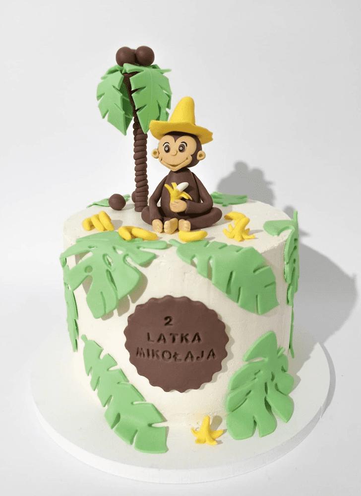 Classy Monkey Cake