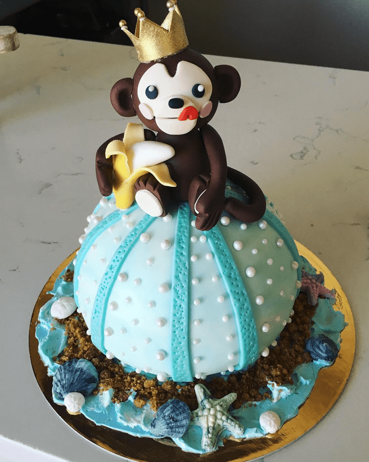 Admirable Monkey King Cake Design
