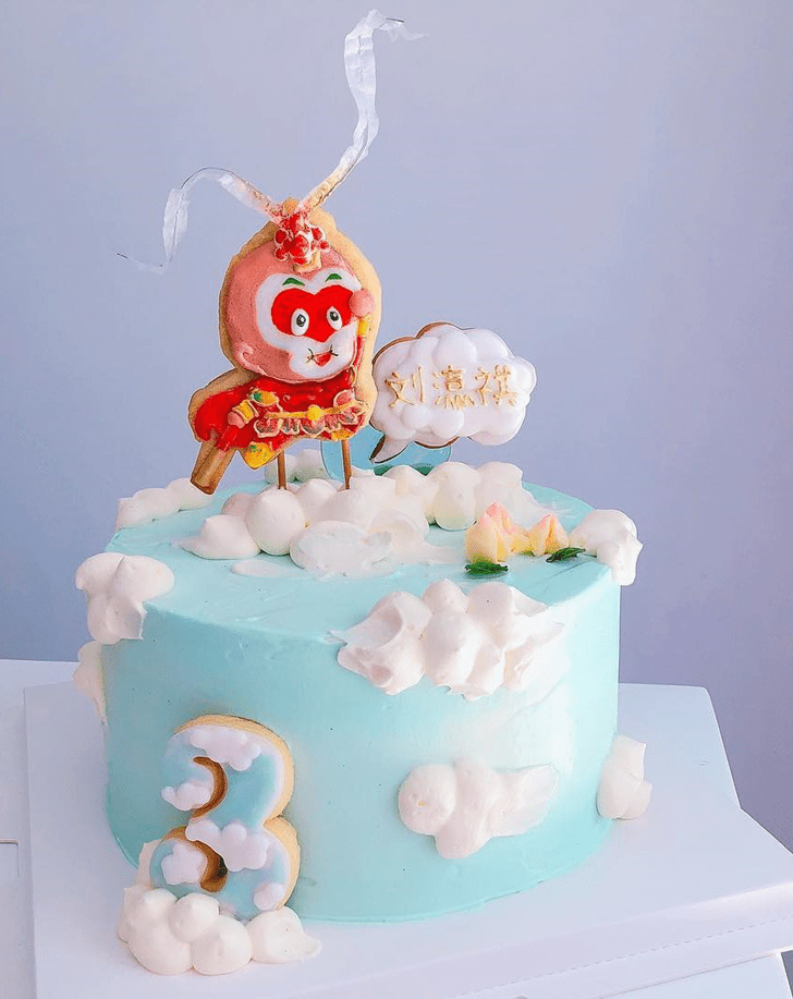 Bewitching Monkey King Cake