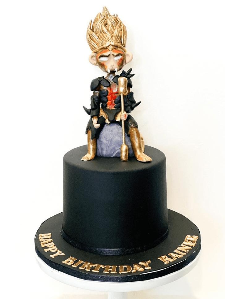 Classy Monkey King Cake