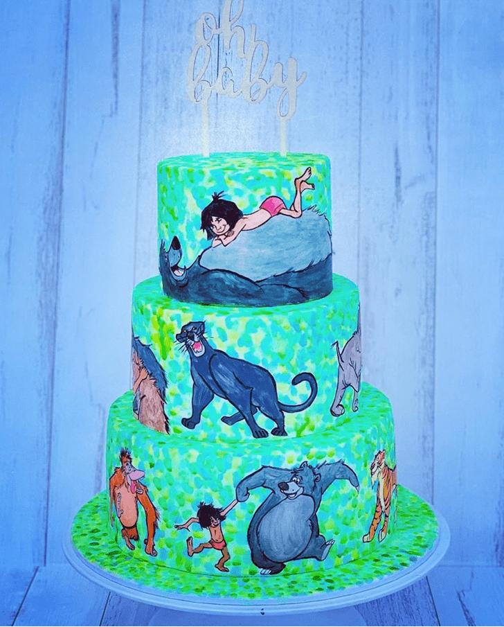 Admirable Mowgli Cake Design