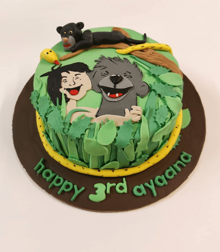 Angelic Mowgli Cake