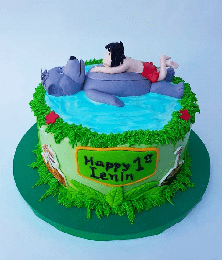 Charming Mowgli Cake