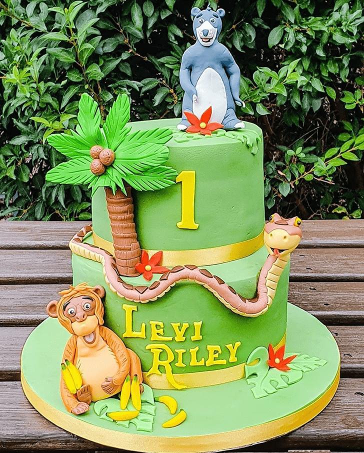 Cute Mowgli Cake