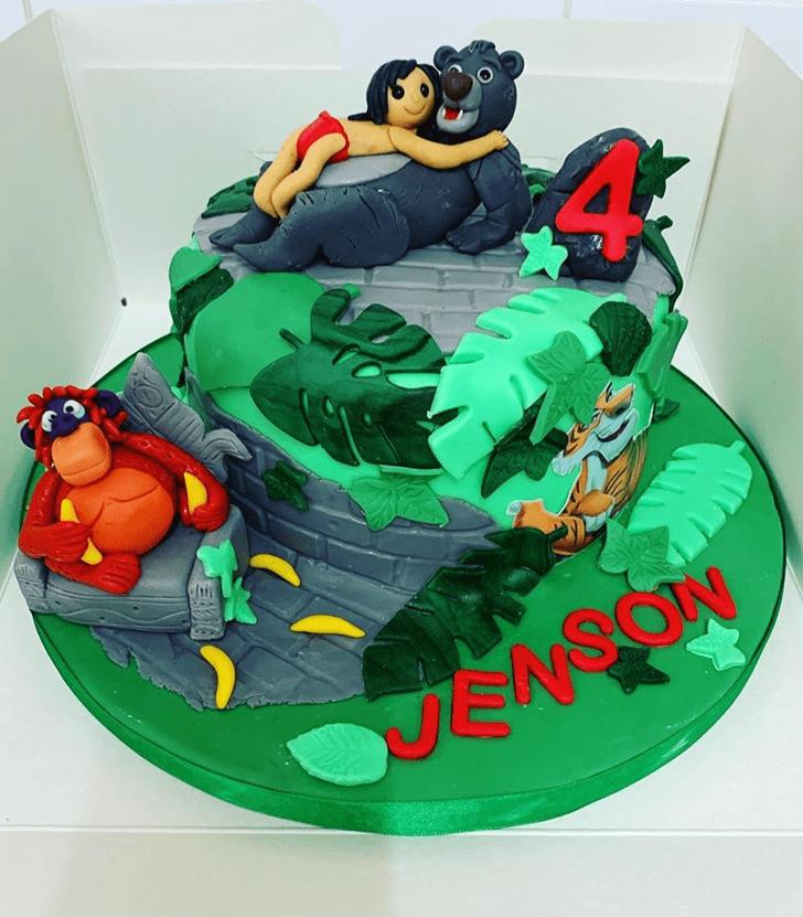 Dazzling Mowgli Cake