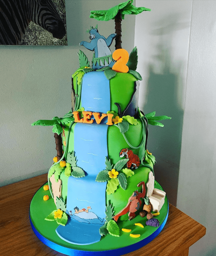 Elegant Mowgli Cake