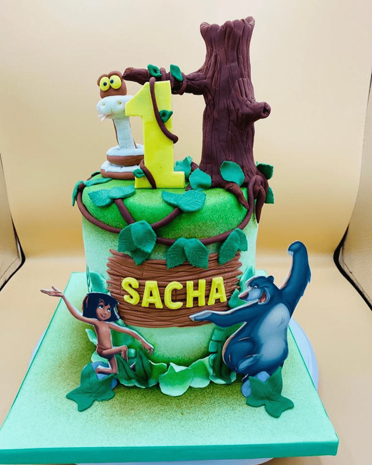 Enthralling Mowgli Cake